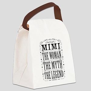 Mimi The Legend... Canvas Lunch Bag