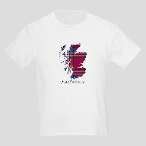 Map - MacFarlane Kids Light T-Shirt