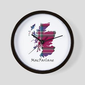 Map - MacFarlane Wall Clock