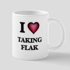 I Love Taking Flak Mugs