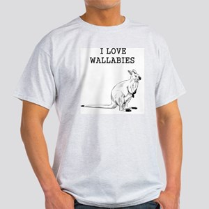 I Love Wallabies T-Shirt