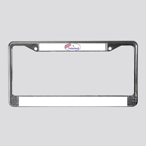 I Vo(mi)ted today License Plate Frame