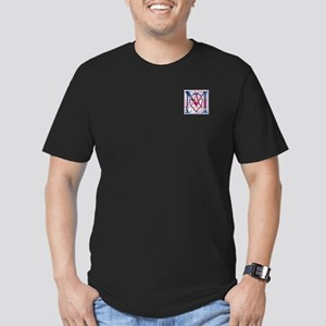 Monogram - MacFarlane Men's Fitted T-Shirt (dark)