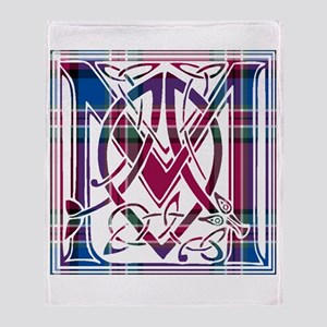 Monogram - MacFarlane Throw Blanket
