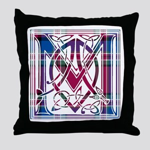 Monogram - MacFarlane Throw Pillow