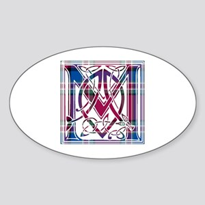 Monogram - MacFarlane Sticker (Oval)
