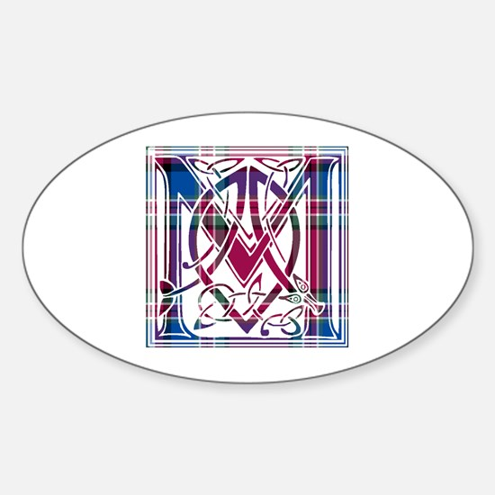 Monogram - MacFarlane Sticker (Oval)