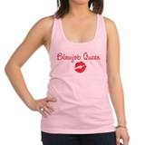 Gay blow job Womens Racerback Tanktop