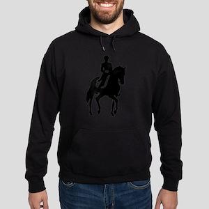 Dressage rider Hoodie (dark)