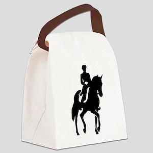 Dressage rider Canvas Lunch Bag