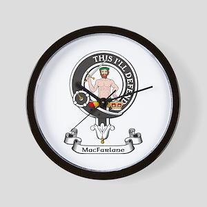 Badge - MacFarlane Wall Clock