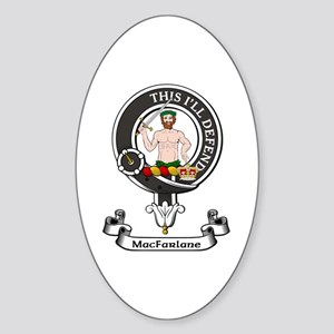 Badge - MacFarlane Sticker (Oval)