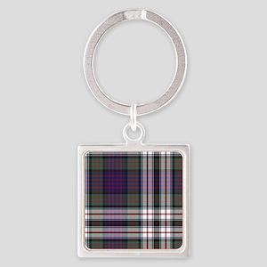 Tartan - MacDonald dress Square Keychain