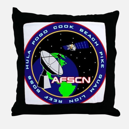 Sat. Control Network Throw Pillow