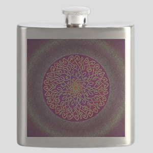 Sangria Celtic Art Burst Flask