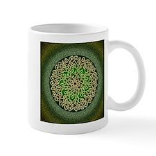Sage Celtic Art Burst Mugs