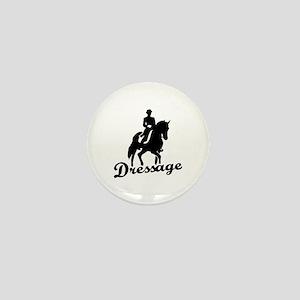 Dressage riding Mini Button