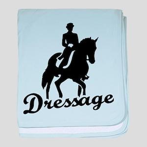 Dressage riding baby blanket