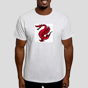 Red Dragon 1 Light T-Shirt