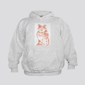 Peaceful Resting Cat - Holiday Hoodie