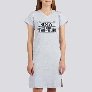 Oma The Legend... Women's Nightshirt