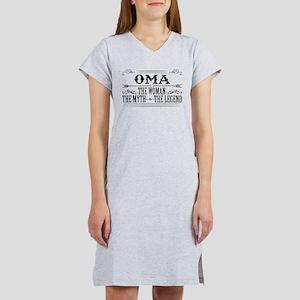 Oma The Legend... Women's Nightshirt