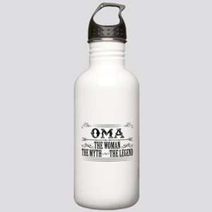 Oma The Legend... Sports Water Bottle