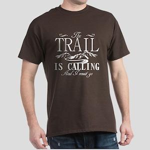 The Trail Is Calling Dark T-Shirt