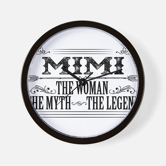 Mimi The Legend... Wall Clock