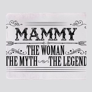 Mammy The Legend... Throw Blanket