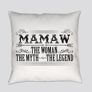 Mamaw The Legend... Everyday Pillow