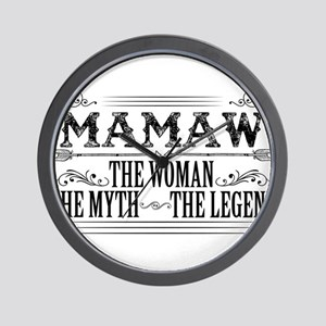 Mamaw The Legend... Wall Clock