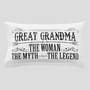 Great Grandma The Legend... Pillow Case