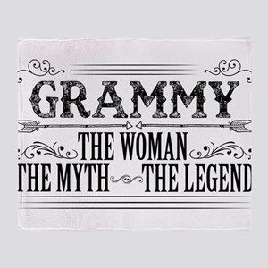 Grammy The Legend... Throw Blanket