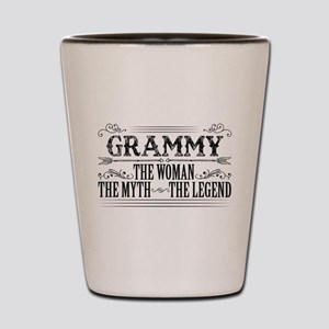 Grammy The Legend... Shot Glass