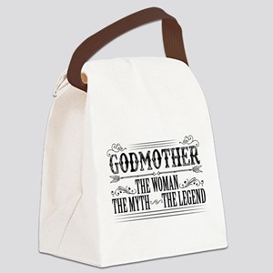 Godmother The Legend... Canvas Lunch Bag