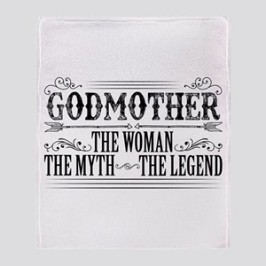 Godmother The Legend... Throw Blanket