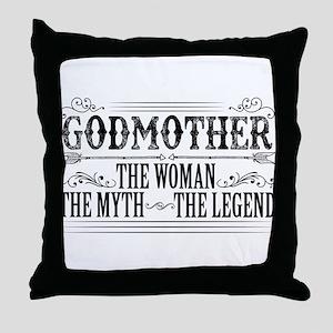 Godmother The Legend... Throw Pillow