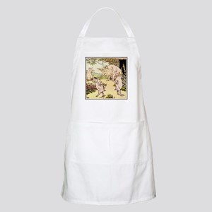 """Little Pigs Leave Home"" BBQ Apron"