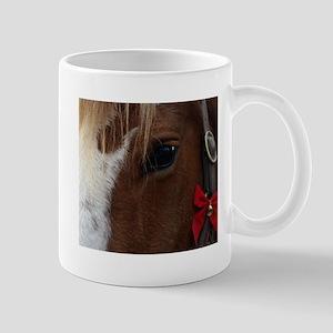 Horse Christmas Bell Mugs