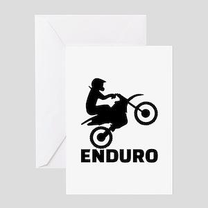 Enduro Greeting Card