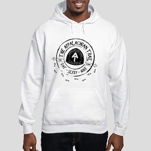 Appalachian Trail Eat-sleep-hike Hooded Sweatshirt