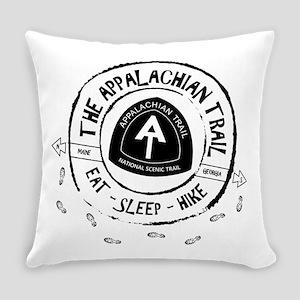Appalachian Trail Eat-sleep-hike Everyday Pillow