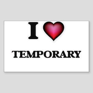 I love Temporary Sticker