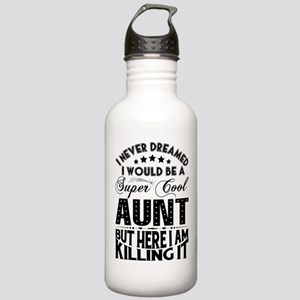 Super Cool Aunt... Sports Water Bottle