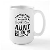 Aunt to be Large Mugs (15 oz)