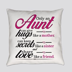 Only An Aunt Can Give Hugs Like A Mother... Everyd