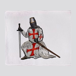 THE TEMPLAR Throw Blanket