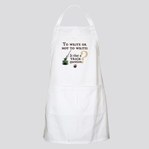 To Write or Not to Write BBQ Apron