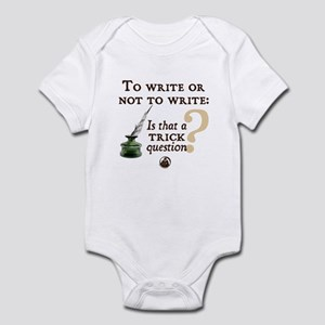 To Write or Not to Write Infant Bodysuit